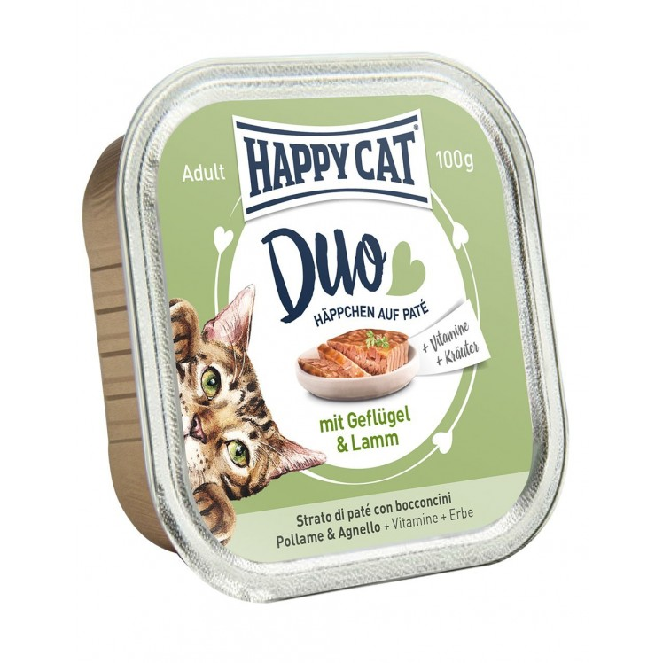 Happy Cat Duo Geflügel&Lamm...
