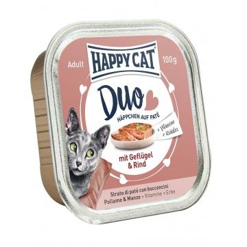 Cat Duo Geflügel&Rind (pollo-ternera)