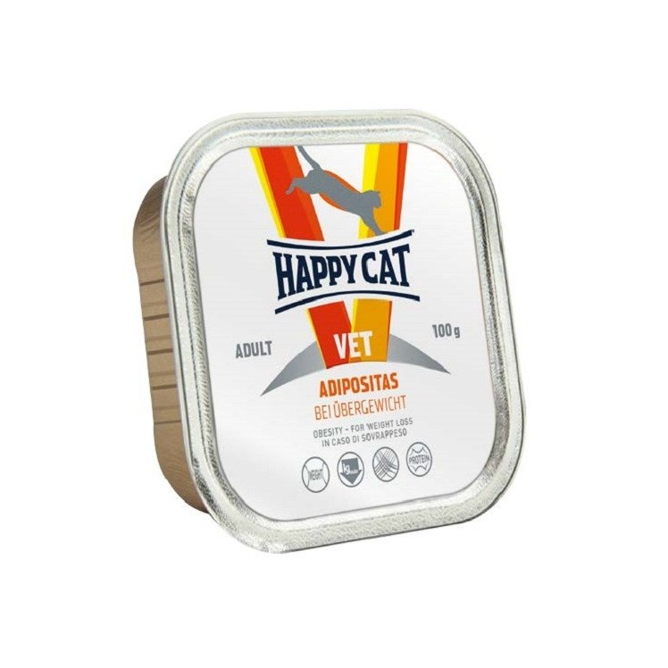Happy Cat VET Diet Adipositas (húmedo)