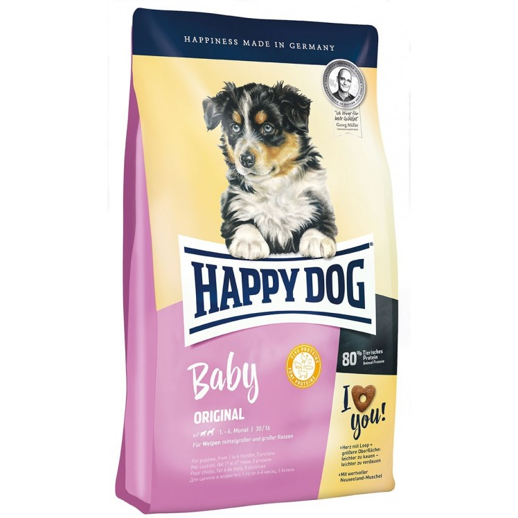 Happy Dog Baby Original (Heart)