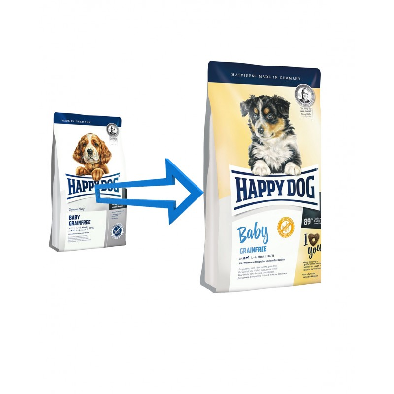 happy dog baby grainfree happy dog oficial. Black Bedroom Furniture Sets. Home Design Ideas