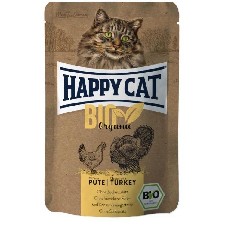 Happy Cat Pouch Bio Pute &...