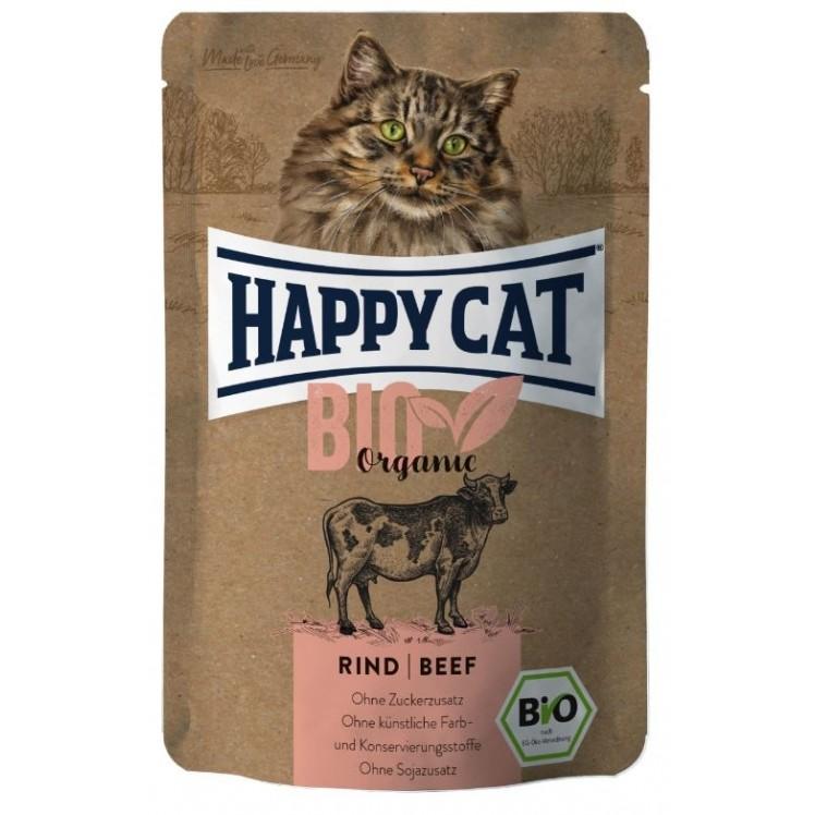 Happy Cat Pouch Bio TERNERA...